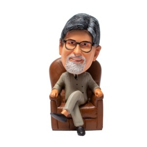 Amitabh Bachchan Bobblehead Bollywood Movies Handmade Fragile