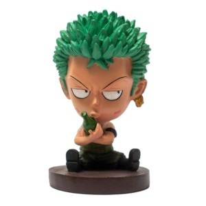 Zoro 5inch Miniature Caricature One Piece Handmade Fragile Anime