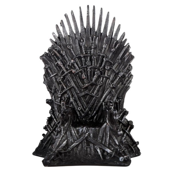 Game of throne chair miniature fragile replica