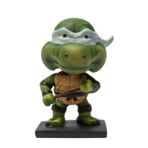 Ninja Turtle Bobblehead Animation Comic Handmade Fragile