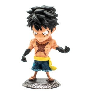 Luffy attack 7inch Figurine Handmade Fragile Monkey D. Luffy Anime