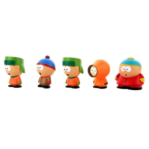 Southpark Set of 5 characters Miniatures Handmade Figures Fragile