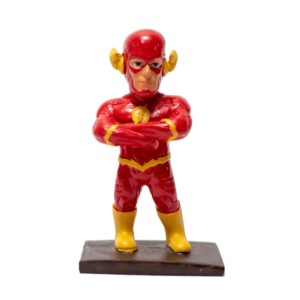 Flash comic 4inch miniature figure DC Batman Handmade Fragile