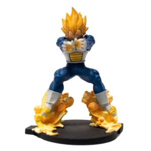 Vegeta Fighting 7inch Figurine DragonBallZ Handmade Fragile Anime