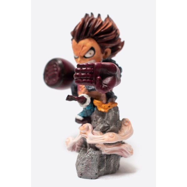 "Luffy Snakeman gear 4 Figurine 8inch Anime Handmade Fragile Monkey D. ""Strawhat"" luffy"