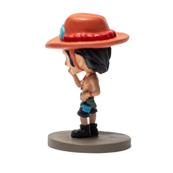 Portgas D.Ace Fire fist 4inch miniature One piece Handmade Fragile Anime