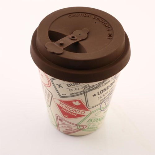 Travel Stamps - Bamboo Fibre Cup