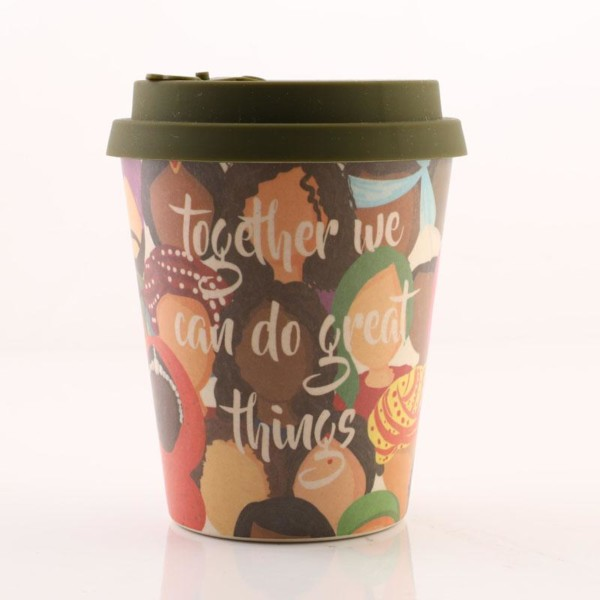 Unity and Diversity - Bamboo Fibre Cup