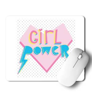 Girl Power  Mousepad for Laptop / Computer