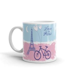 Love In Paris - Abstract Ceramic Tea & Coffee Mug