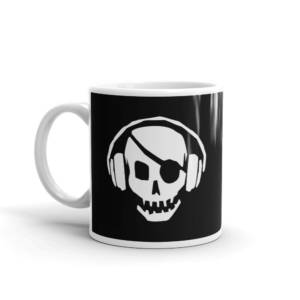 Skull Musix - Humour Ceramic Tea & Coffee Mug