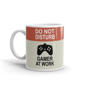 Do Not Disturb - Sports Ceramic Tea & Coffee Mug