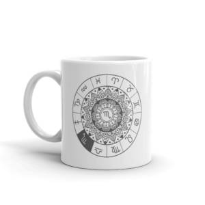 Zodiac - Typography Ceramic Tea & Coffee Mug