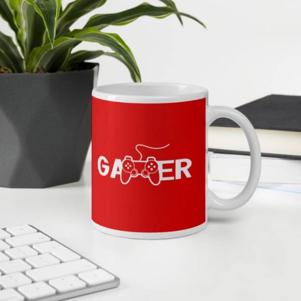 Video Gamer - Sports Ceramic Tea & Coffee Mug