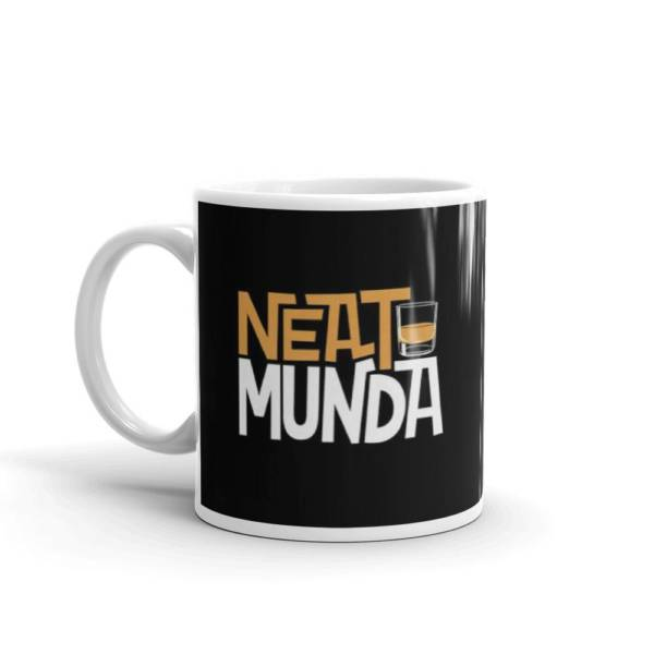 Neat munda - Alcohol Ceramic Tea & Coffee Mug