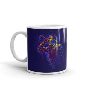 Karaoke Art - Music Ceramic Tea & Coffee Mug