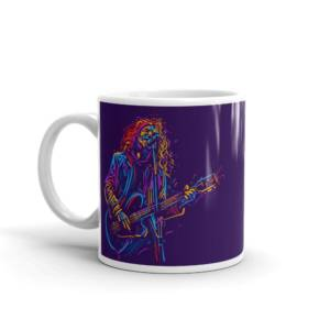 Guitar Free Art - Music Ceramic Tea & Coffee Mug