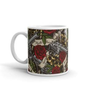 Gangster Red Rose - Music Ceramic Tea & Coffee Mug