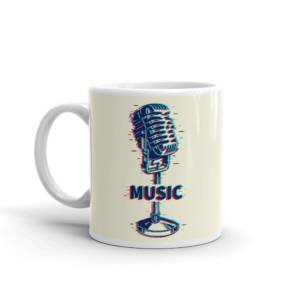Music - Music Ceramic Tea & Coffee Mug