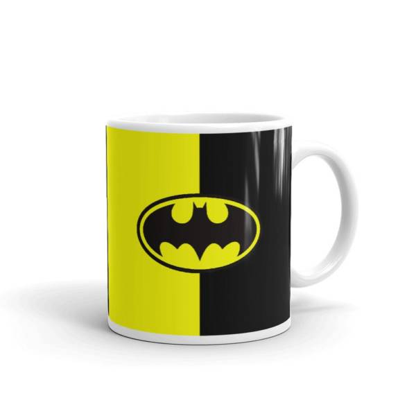 Batman Logo - Super Hero's Ceramic Tea & Coffee Mug