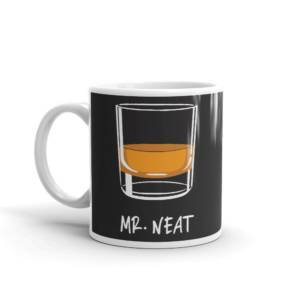Mr.Neat - Alcohol & Marijuana Ceramic Tea & Coffee Mug