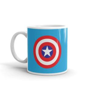 Shield Symbol - Super Hero's Ceramic Tea & Coffee Mug
