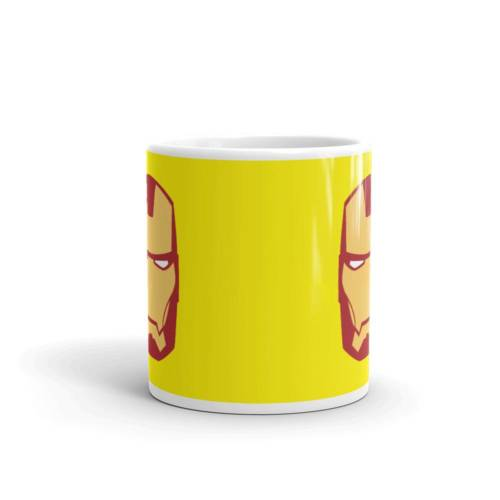 Iron Man Face - Super Hero's Ceramic Tea & Coffee Mug