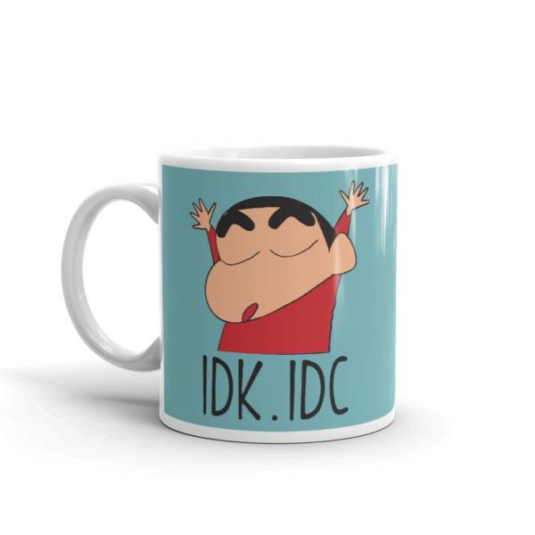 IDK.IDC - Cartoon Ceramic Tea & Coffee Mug