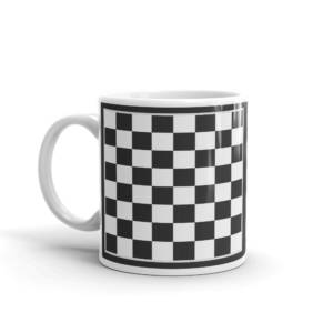 Chess Board - Abstract Ceramic Tea & Coffee Mug