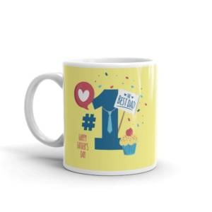 Best Dad Ever - Typography Ceramic Tea & Coffee Mug