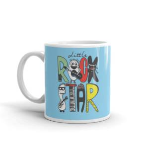 Little Rock Star - Typography Ceramic Tea & Coffee Mug