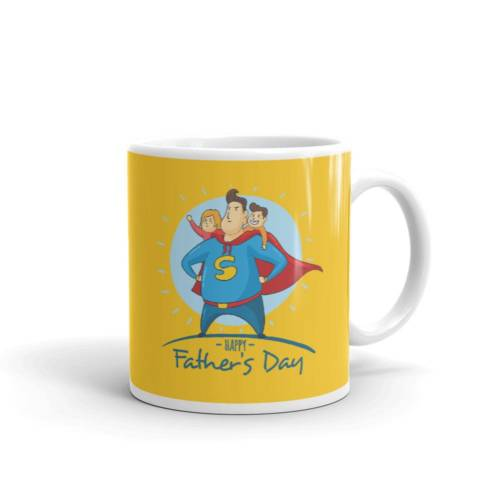 Super Dad - Cartoon Ceramic Tea & Coffee Mug
