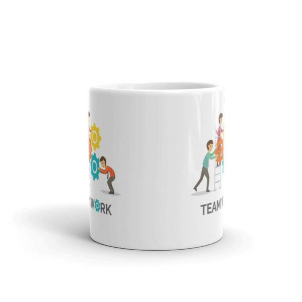 Team Work Business - Office Ceramic Tea & Coffee Mug