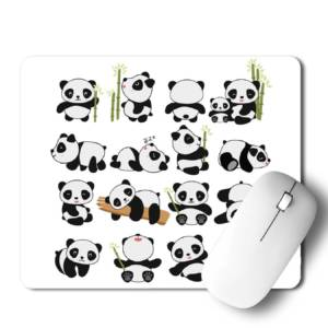 Panda  Mousepad for Laptop / Computer