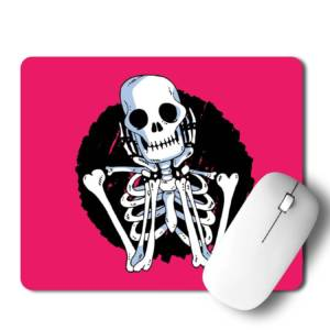 Skull Mousepad for Laptop / Computer