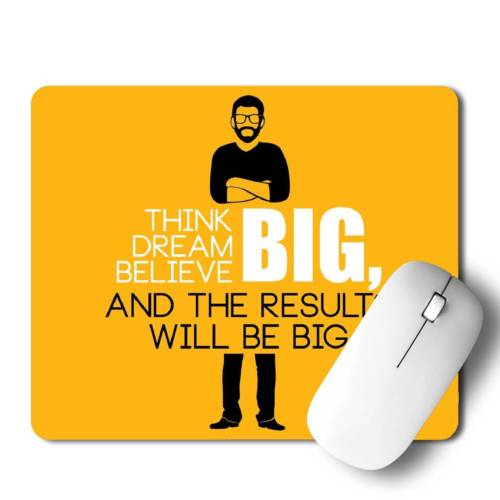 Think Big  Mousepad for Laptop / Computer