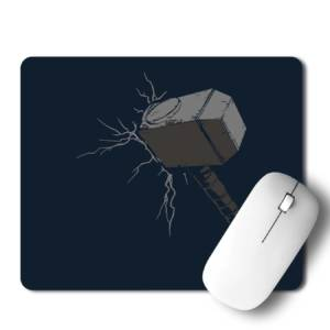 Thor Hammer  Mousepad for Laptop / Computer