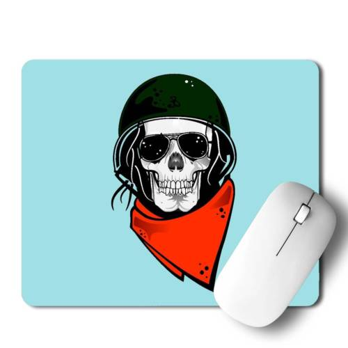 Bike Rider Character Mousepad for Laptop / Computer