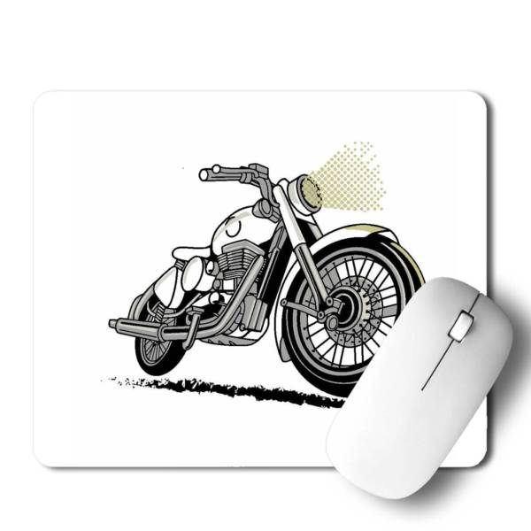 Bike Vector  Mousepad for Laptop / Computer