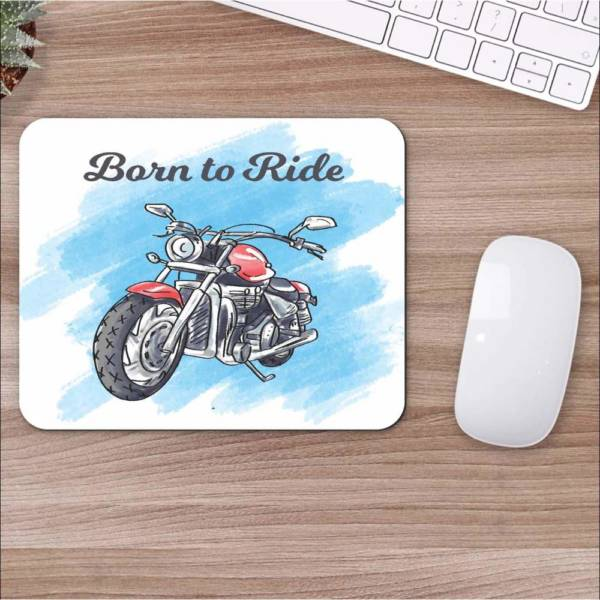Born To Ride Mousepad for Laptop / Computer