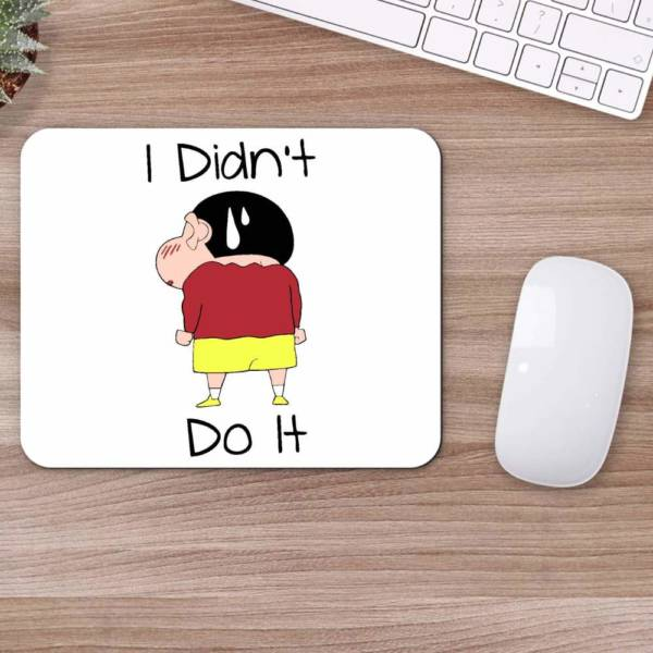 I Didn't Do It Mousepad for Laptop / Computer