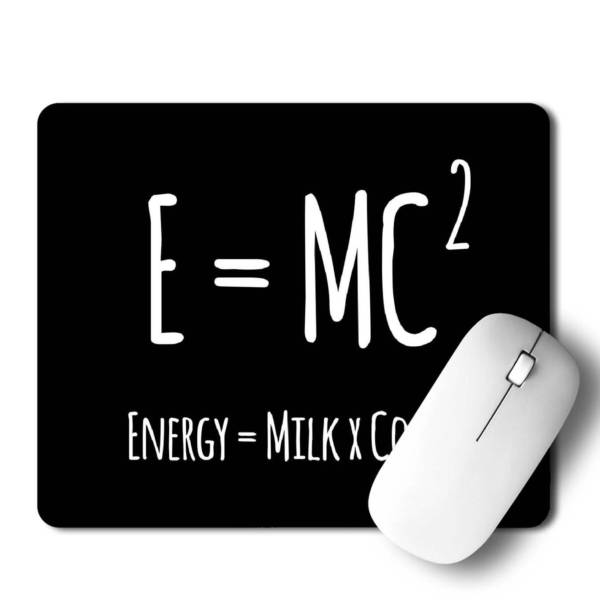 E=MC2  Mousepad for Laptop / Computer