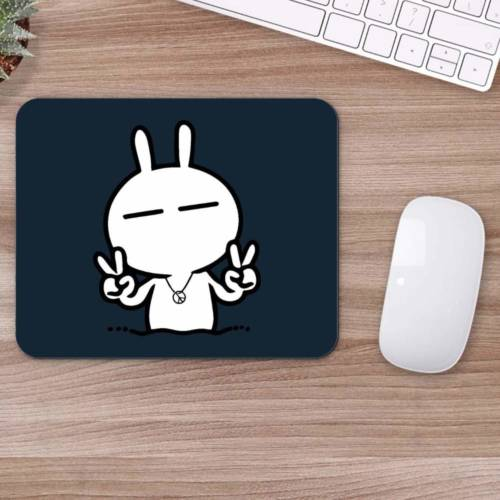 Happy Bunny Mousepad for Laptop / Computer