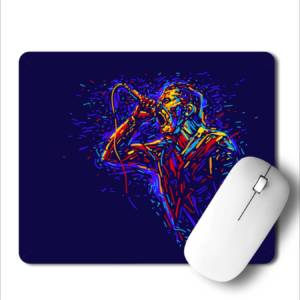 Karaoke  Art  Mousepad for Laptop / Computer