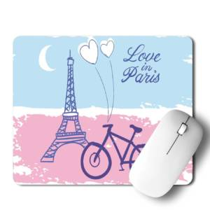 Love In Paris Mousepad for Laptop / Computer