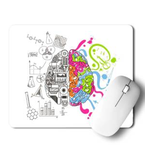 Mind Art & Study Mousepad for Laptop / Computer