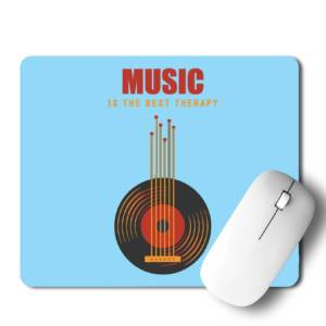 Music is Best Therapy  Mousepad for Laptop / Computer