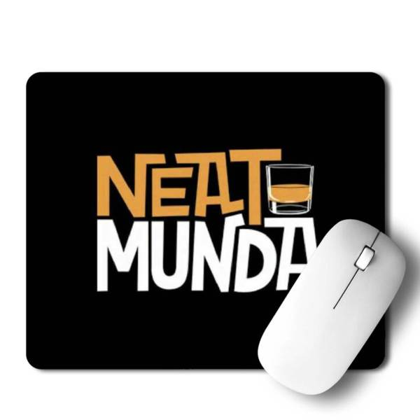 Neat munda  Mousepad for Laptop / Computer