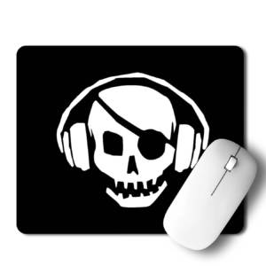 Skull Musix Mousepad for Laptop / Computer