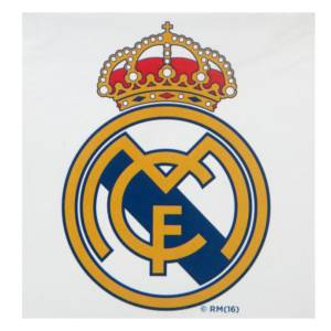 Real Madrid C.F. Window Sticker WS